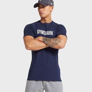 Gymshark navy t-shirt size M